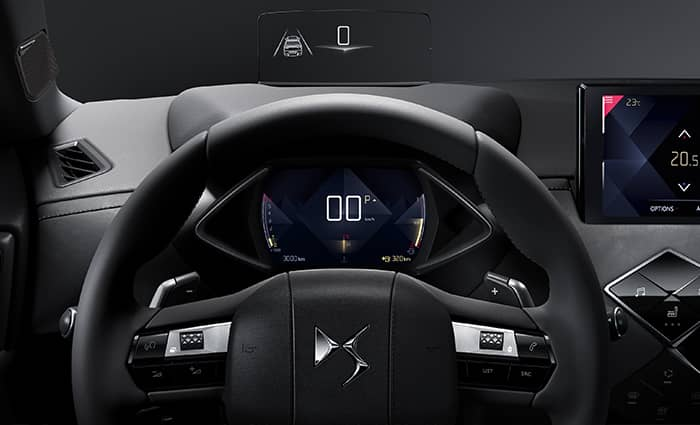 techologie SUV premium et compact DS 3 CROSSBACK en Drôme et en Ardèche