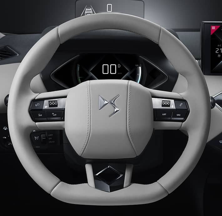 Choix des modes de conduite du SUV électrique premium DS 3 CROSSBACK E-Tense en Drôme et en Ardèche