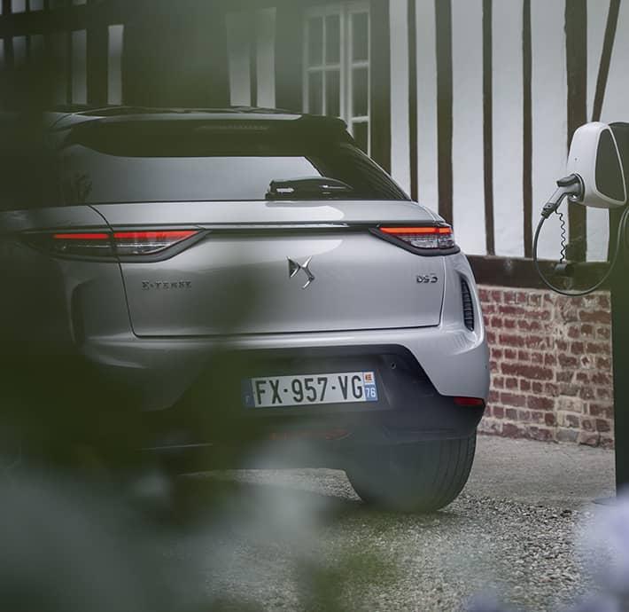 Choix du rechargement du SUV promu électrique DS 3 CROSSBACK E-TENSE en Drôme et en Ardèche