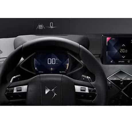 SUV technologique premium, affichage tête haute dans le DS 3 CROSSBACK Valence - Romans